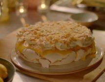 Лимонова торта Павлова