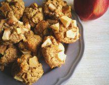 Овесени бисквитки с ябълка
