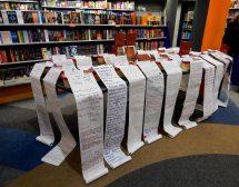 237-метрово любовно писмо изписаха хора от цялата страна