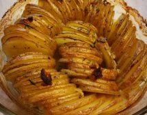 Печени картофи с чесново масло