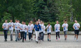 Безплатното щафетно бягане за ученици