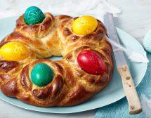 Великден на конци и с шарени яйца