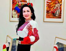 Дили Бозаджиева и картините от мериносова вълна
