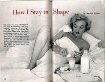 Мерилин Монро: Как поддържам формата си