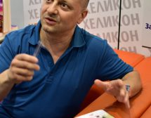 Диего Галдино ще пише роман с главна героиня българка