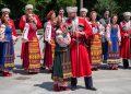 Кубанските казаци пяха и танцуваха пред НДК