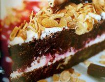 Бадемово-вишнева торта
