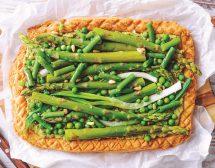 Тарт със зеленчуци