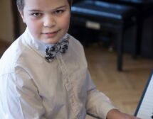 """Саша Гьотцел и детето чудо Ивайло Василев в зала """"България"""""""
