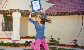 Гери Кехайова влезе в Гинес с най-големия обръч в света