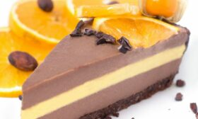 Торта с шоколад и портокал