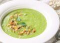Зелено гаспачо или студена супа с авокадо и краставица