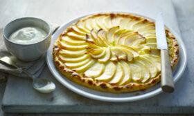Френски ябълков тарт