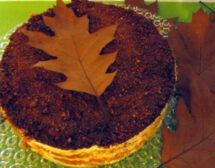 Торта с тиква и ябълки без печене