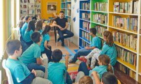 Млади автори в час по вдъхновение