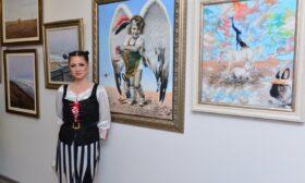 """""""Свобода"""" – платната на Калина Ханджиева"""