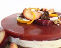 Торта със сливи
