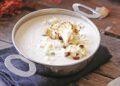 Крем супа с карфиол и чедър