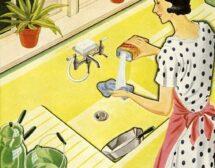 Ретро съвети за чистене на петна