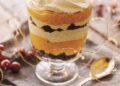 Десерт с тиква и ром