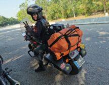Българка е на път да стане първата жена, обиколила света с мотор