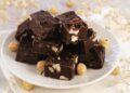 Лесен шоколадов фъдж с лешници и маршмелоу
