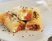 Банички с моркови и сирене