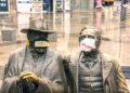 Коронавирус истерията вдъхнови фотограф