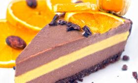 """Торта """"Шоколад и портокал"""""""