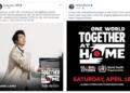 """Световни звезди в """"Един свят: Заедно вкъщи"""" срещу COVID-19"""