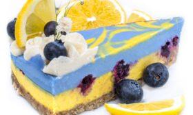 Торта с боровинки и лимон
