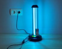 Умна УВ лампа с озон срещу инфекции