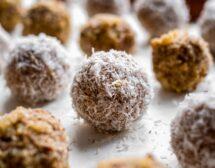 Сурови бонбони със смокини и орехи