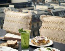 Секси вегетарианска кухня и поглед към Айфеловата кула