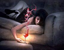 Тревожност + алкохол + жени