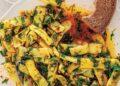 Семпла салата от пресен фасул