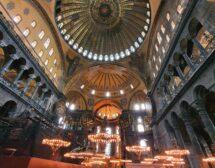 """Как изглежда """"Света София"""" в Истанбул като джамия (снимки)"""