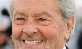 Ален Делон на 85 години