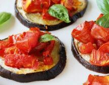 Мъже готвят. Патладжан с чери домати на фурна от Страхил Иванов