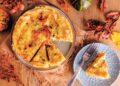 Киш със синьо сирене и печена тиква
