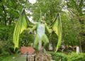 Фентъзи парк с дракони отвори врати в столичния парк Възраждане