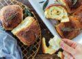 Пухкав чеснов хляб със салвия и пармезан