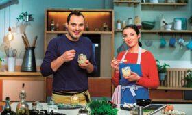 Лора и Стоян и техните магии в чинията