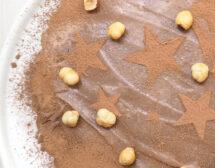 Шоколадов пай с лешници