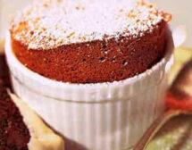Лесна рецепта за шоколадово суфле