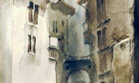 Акварелните улици на Росен Марковски
