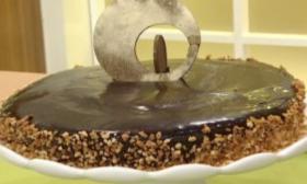 Торта с канела и карамел