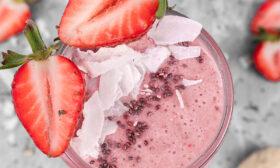 Протеинов шейк с ягоди
