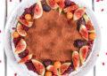 Торта с рожков, круша и къпини