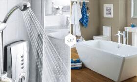 Вана или душ – кое е подходящо за нашата баня?